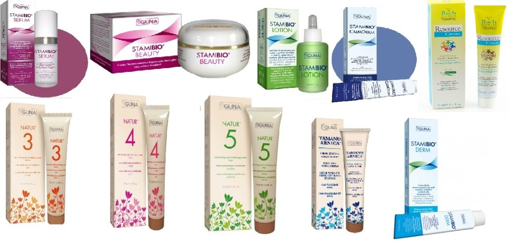 All GUNA Cosmetic products